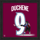 Matt Duchene, Avalanche representation of the player's jersey Framed Memorabilia