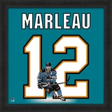 Patrick Marleau, Sharks representation of the player's jersey Framed Memorabilia
