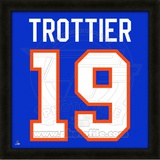 Brian Trottier, Islanders photographic representation of the player's jersey Framed Memorabilia