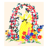 Archway of Flowers Posters