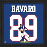 Mark Bavaro, Giants representation of the player's jersey Framed Memorabilia