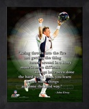 John Elway ProQuote Framed Memorabilia