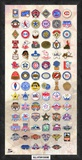 MLB All-Star Game Timeline Composite, Framed with plate Framed Memorabilia