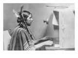 Native American Switchboard Operator Posters
