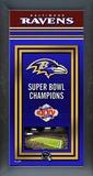 Baltimore Ravens Framed Championship Banner Framed Memorabilia