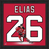 Patrick Elias, Devils representation of the player's jersey Framed Memorabilia