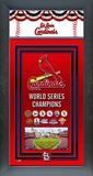St. Louis Cardinals Framed Championship Banner Framed Memorabilia