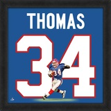 Thurman Thomas, Bills representation of the player's jersey Framed Memorabilia