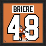 Daniel Briere, Flyers representation of the player's jersey Framed Memorabilia