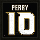 Corey Perry, Ducks photographic representation of the player's jersey Framed Memorabilia