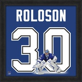 Dwayne Roloson, Lightning representation of the player's jersey Framed Memorabilia