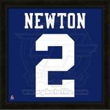 Cam Newton, Auburn University Tigers representation of the player's jersey Framed Memorabilia