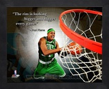 Paul Pierce ProQuote Framed Memorabilia