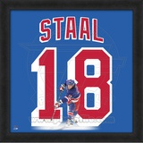 Marc Staal, Rangers photographic representation of the player's jersey Framed Memorabilia