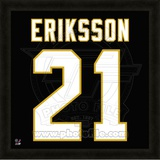 Loui Eriksson, Stars representation of the player's jersey Framed Memorabilia