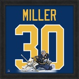 Ryan Miller, Sabres photographic representation of the player's jersey Framed Memorabilia
