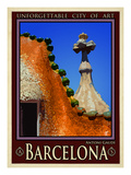 Barcelona Spain 1 Giclee Print by Anna Siena