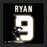 Bobby Ryan, Ducks representation of the player's jersey Framed Memorabilia