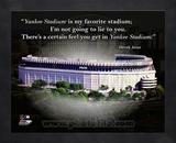 Yankee Stadium – Derek Jeter ProQuote Framed Memorabilia