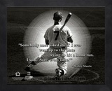 Mickey Mantle ProQuote Framed Memorabilia