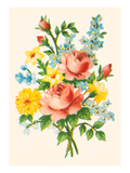 Fancy Flower Arrangement Prints