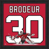 Martin Brodeur, Devils photographic representation of the player's jersey Framed Memorabilia