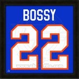 Mike Bossy, Islanders photographic representation of the player's jersey Framed Memorabilia