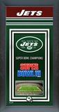 New York Jets Framed Championship Banner Framed Memorabilia