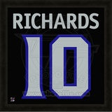 Mike Richards, Kings representation of the player's jersey Framed Memorabilia