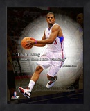 Chris Paul ProQuote Framed Memorabilia