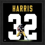 Franco Harris, Steelers representation of the player's jersey Framed Memorabilia