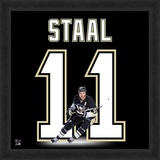 Jordan Staal, Penguins representation of the player's jersey Framed Memorabilia