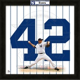 Mariano Rivera, Yankees representation of the player's jersey Framed Memorabilia