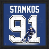 Steven Stamkos, Lightning representation of the player's jersey Framed Memorabilia