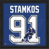 Steven Stamkos, Lightning representation of the player's jersey Framed Memorabilia