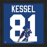 Phil Kessel, Maple Leafs representation of the player's jersey Framed Memorabilia