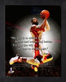 Dwayne Wade ProQuote Framed Memorabilia