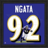 Haloti Ngata, Ravens photographic representation of the player's jersey Framed Memorabilia