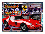 Ferrari 250 Gto Giclee Print by Nomi Saki