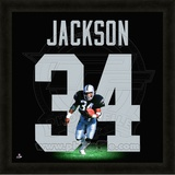 Bo Jackson, Raiders representation of the player&#39;s jersey Framed Memorabilia