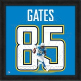 Antonio Gates, Chargers representation of the player's jersey Framed Memorabilia