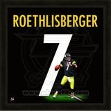 Ben Roethlisberger, Steelers photographic representation of the player's jersey Framed Memorabilia
