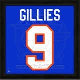 Clark Gillies, Islanders photographic representation of the player's jersey Framed Memorabilia
