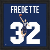 Jimmer Fredette, BYU representation of the player's jersey Peas de valor estimativo emolduradas
