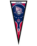 New Jersey Nets Pennant Framed Memorabilia