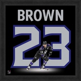 Dustin Brown, Kings representation of the player's jersey Framed Memorabilia