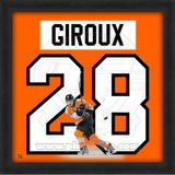 Claude Giroux, Flyers photographic representation of the player's jersey Framed Memorabilia