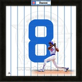 Andre Dawson, Cubs representation of the player's jersey Framed Memorabilia