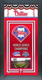 Philadelphia Phillies Framed Championship Banner Framed Memorabilia