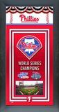 Philadelphia Phillies Framed Championship Banner Framed Memorabilia